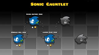 SONIC GAUNTLET | Geometry Dash (The Lost Gauntlets of Sonic Fan Made)