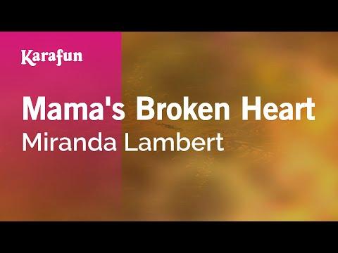 Karaoke Mama's Broken Heart - Miranda Lambert *