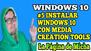 actualizar a windows 10 sin reservas con Media Creation Tool