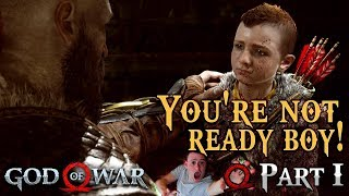 YOU'RE NOT READY BOY ! Our Epic Journey Begins ► God of War 2018 PS4 🔴 Live Rewind