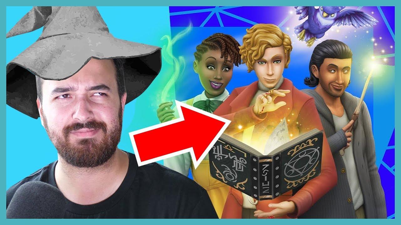 The Sims 4 Realm of Magic Reaction! thumbnail