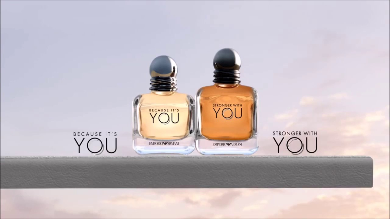 a0f5b54c2c0 Giorgio Armani Emporio Armani Because It s You   Stronger With You ...
