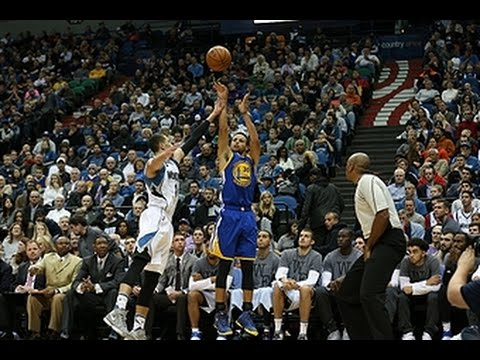 Stephen Curry Drops 46 on the Wolves!...