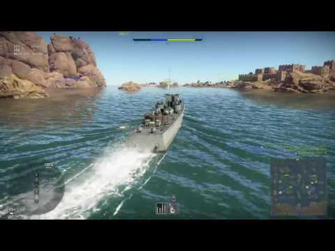 **Early Access!** Pre-BETA Naval Forces War Thunder PS4-Pro Gameplay