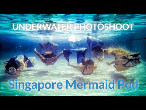 Underwater Photoshoot with Mermaids