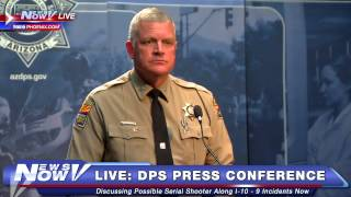 FNN: DPS Raises Reward for Serial Shooter along I-10 - 9 Shootings Being Investigated