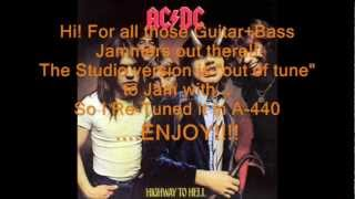 "AC/DC ""Shot Down in Flames"": Retuned A-440 Version"