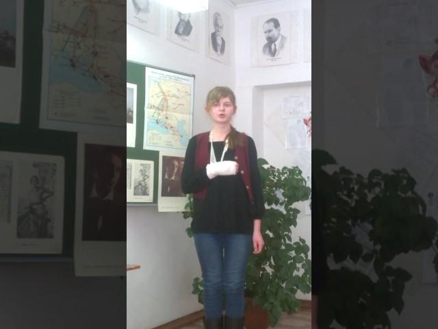 Изображение предпросмотра прочтения – СветланаГаврина читает произведение «Стихи о разнице вкусов» В.В.Маяковского