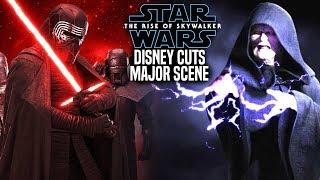 Disney Cuts Major Scene From The Rise Of Skywalker! (Star Wars Episode 9)