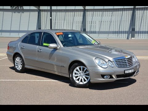 Mercedes Benz E350 Elegance 2007 for sale @ Newcastle Vehicle Exchange