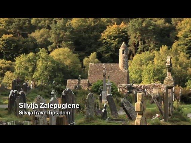 Glendalough, Airija, viduramžių vienuolių gyvenvietė - Silvija Travel Tips