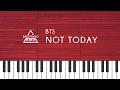 방탄소년단 BTS Not Today Piano Cover mp3