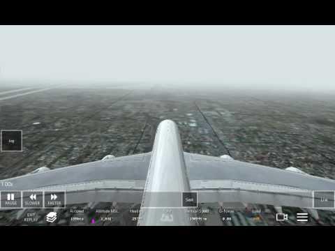 Infinite Flight Extreme Weather Landing #1  