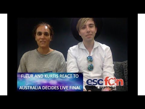Fleur And Kurtis Reacts To The Live Final Of Australia Decides 2020