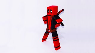 How to dress Vyouttar figure as Deadpool - Vyouttar Origami
