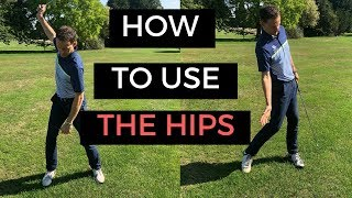HOW TO USE THE HIPS IN THE GOLF SWING - CRAZY DETAIL