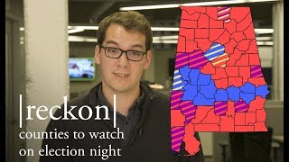 Alabama counties to watch on election night