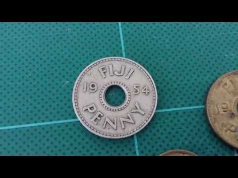 Coin of the Day (#4) - 26th July 2014 - Fiji Penny