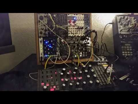 Just A Minute - Travelling With Euro Easel And Moog Subharmonicon