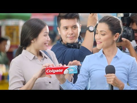 Try the NEW Colgate Active Salt toothpaste!