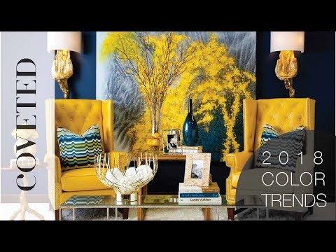 2018 Home Interior Color Trends