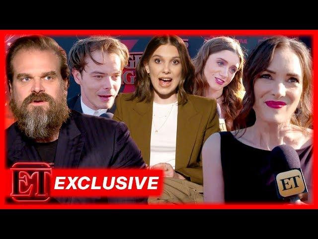Stranger Things Stars React to That SHOCKING Season 3 Finale! (Exclusive)