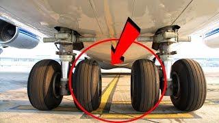 Uçak Lastikleri İniş Sırasında Neden Patlamaz?