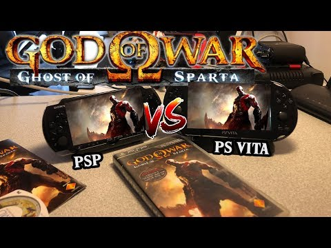 God Of War: Ghost Of Sparta -PSP VS PS VITA (KIYASLAMA !)