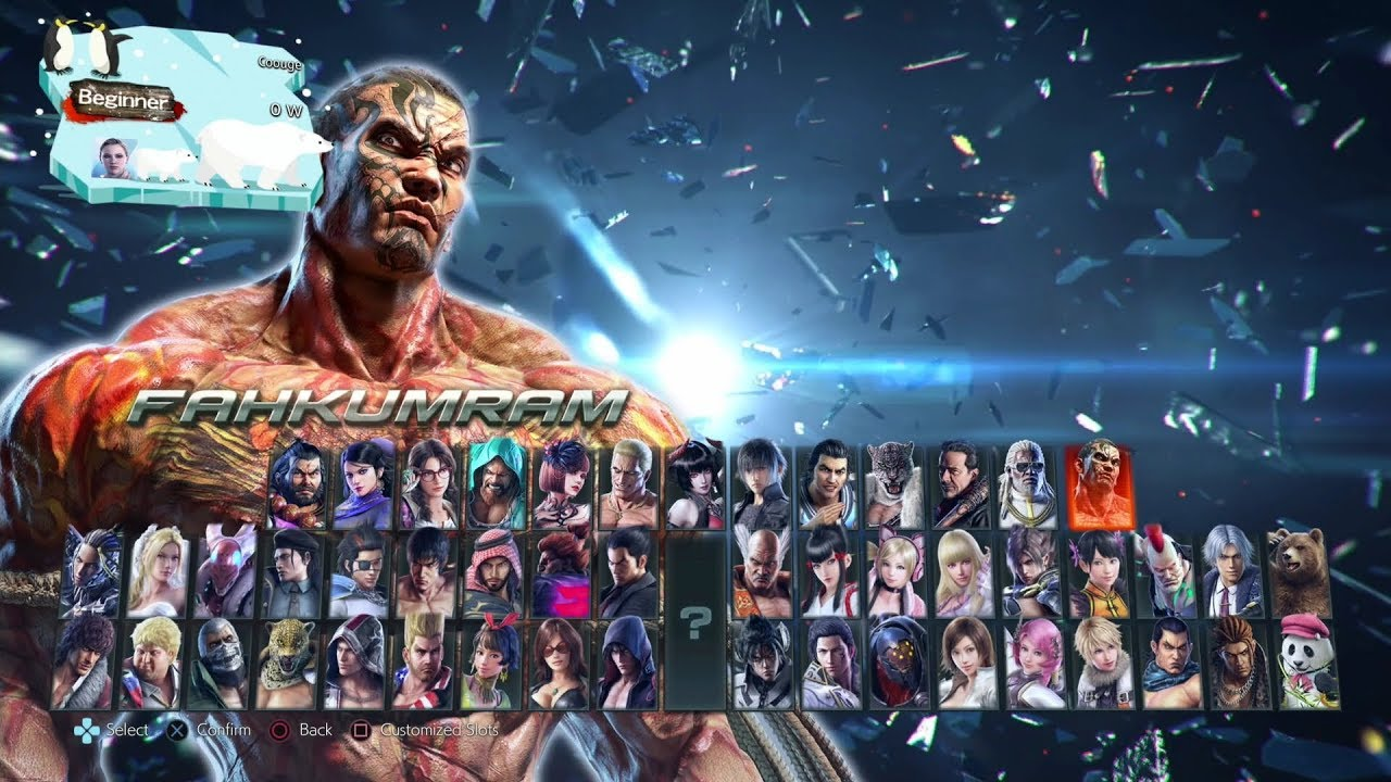 Tekken 7 All Characters All Seasons 2020 Youtube
