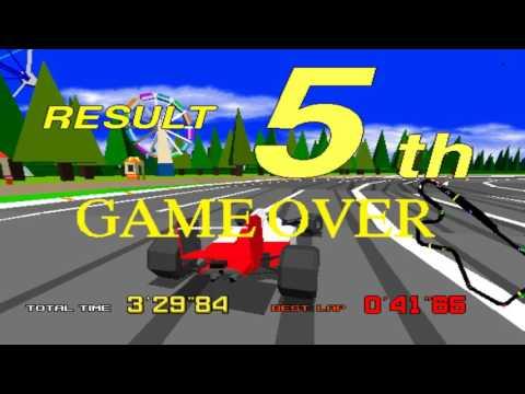 Arcade Sega Virtua Racing game 1992
