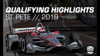 2019 NTT IndyCar Series: St. Pete Qualifying Highlights