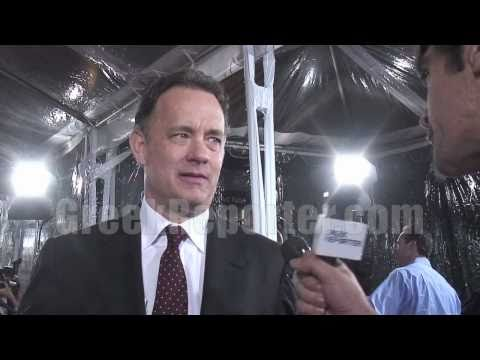"Tom Hanks Talks Exclusively about Being Married to a Greek & ""Larry Crowne"""