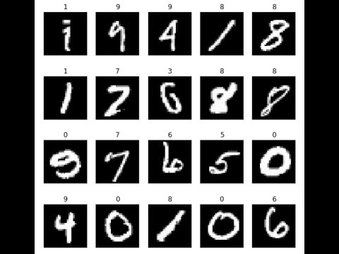 Handwritten digit classification in Python using scikit learn