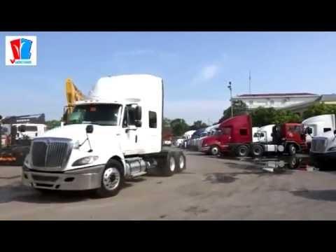 Xe đầu kéo Mỹ nhập khẩu nguyên chiếc lần đầu tiên tại Việt Nam
