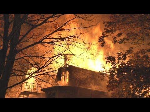 Massive Fire Guts Ronkonkoma Eyesore