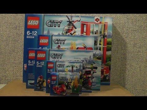 Nowości Styczeń 2013 Lego City Straż Pożarna Youtube