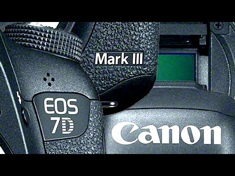 Canon 7D Mark III - The SPECS?