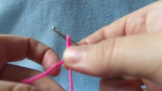 урок№1.вязание крючком.набираем воздушные петли