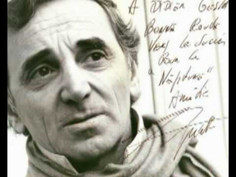 l'istrione - (le cabotin) - Charles Aznavour - (a tribute to Charles Aznavour)
