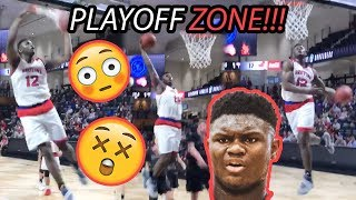 Zion Williamson Is In PLAYOFF MODE! Ridiculous 360 & Windmill Leads To MID GAME SELFIE 😱