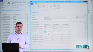 How to use Master Data Import Worksheet to import complex data - in Microsoft Dynamics NAV