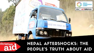 Nepal Aftershocks: the people's truth about aid