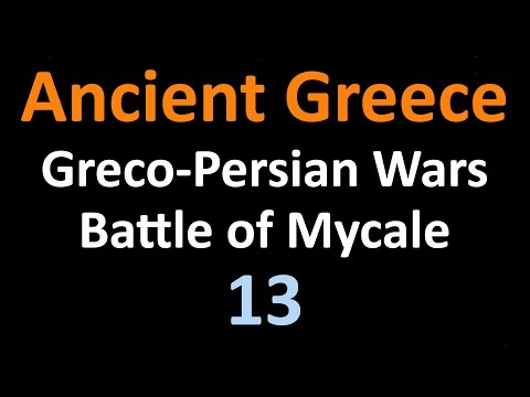 Greco Persian Wars - Battle of Mycale and Delian League - 13