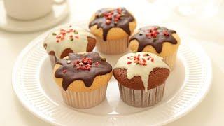 チョコレート・カップケーキの作り方&ラッピング*手作りバレンタイン Chocolate Cupcake|HidaMari Cooking