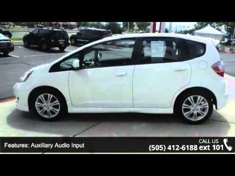 2010 Honda Fit Sport - Reliable Nissan - Albuquerque, NM ...