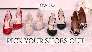 How to Match Shoes to Your Outfit  Picking out the Right Shoes!