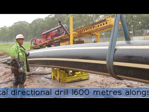 The largest horizontal directional drill of its kind in Australia