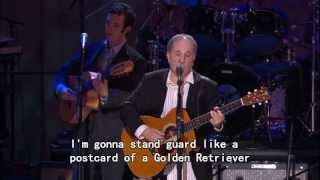 Paul Simon - Father and Daughter (Lyrics)