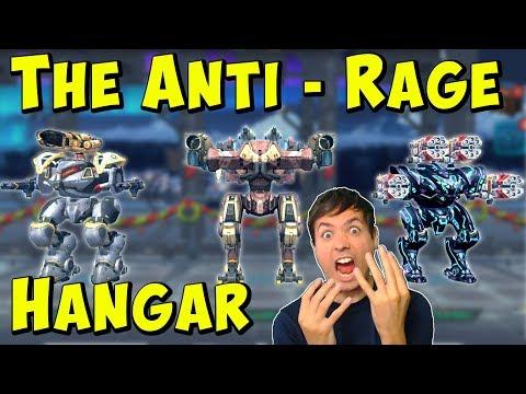 Totally Anti-Rage Hangar - War Robots Live Gameplay with Manni