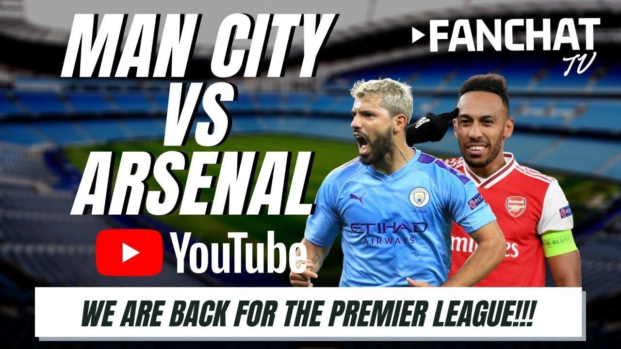Manchester City Vs Arsenal Live Stream Youtube